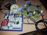 The Octopus wired up to a Arduino.